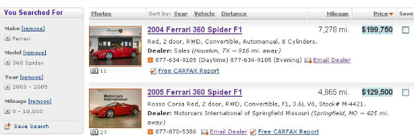 360-spider-price-difference