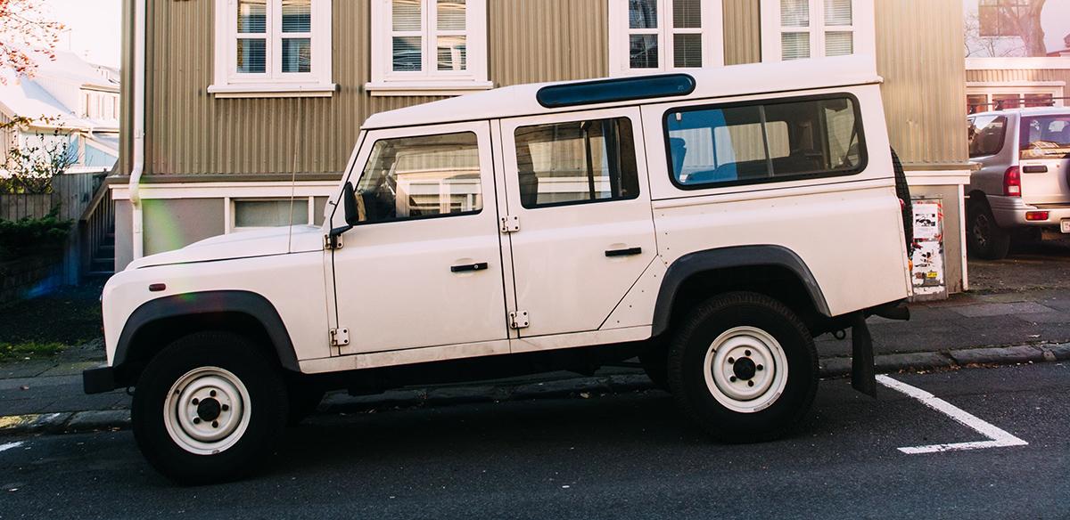 old Range Rover